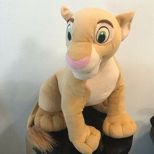 """2002 Disney Hasbro Jumbo Nala 16"""" Plush EUC"""